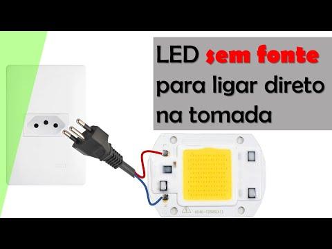 LED sem fonte em 220V