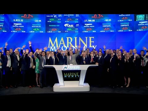Marine Money – Nasdaq Closing Bell 2016
