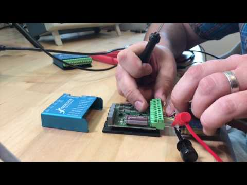 Initial setup and tuning of a Geckodrive G320X - YouTube