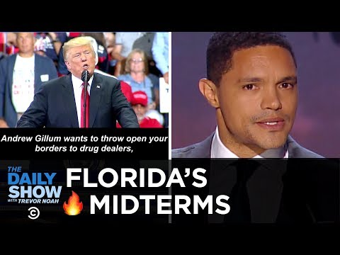 Trump Rallies His Base & Florida Faces Big Midterm Election Decisions | The Daily Show