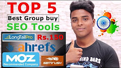 5 Best Group buy SEO Tools Sites - Cheap  Ahrefs, SemRush, Majestic, Moz, Grammarly