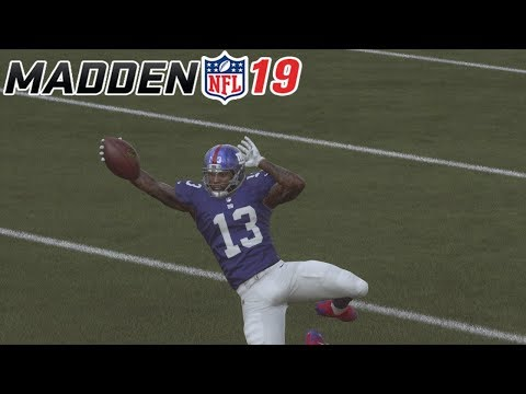 Madden 19 How To DIVE In The END ZONE!!