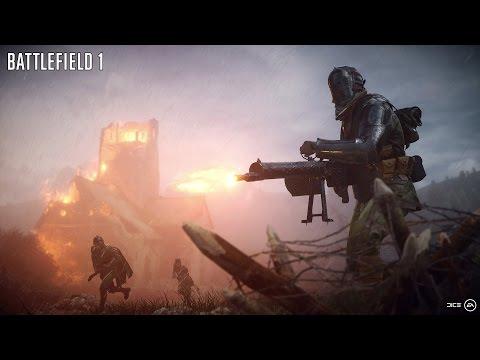 Battlefield 1 - 17+ Kill Streak With Mg 08/15 Pickup Weapon