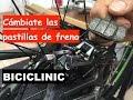 Como cambiar y ajustar pastillas de freno de bicicleta