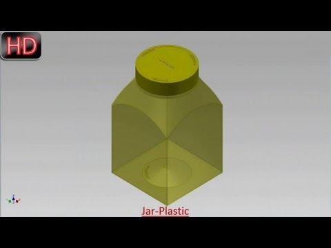 Jar-Plastic (Video Tutorial) Autodesk Inventor