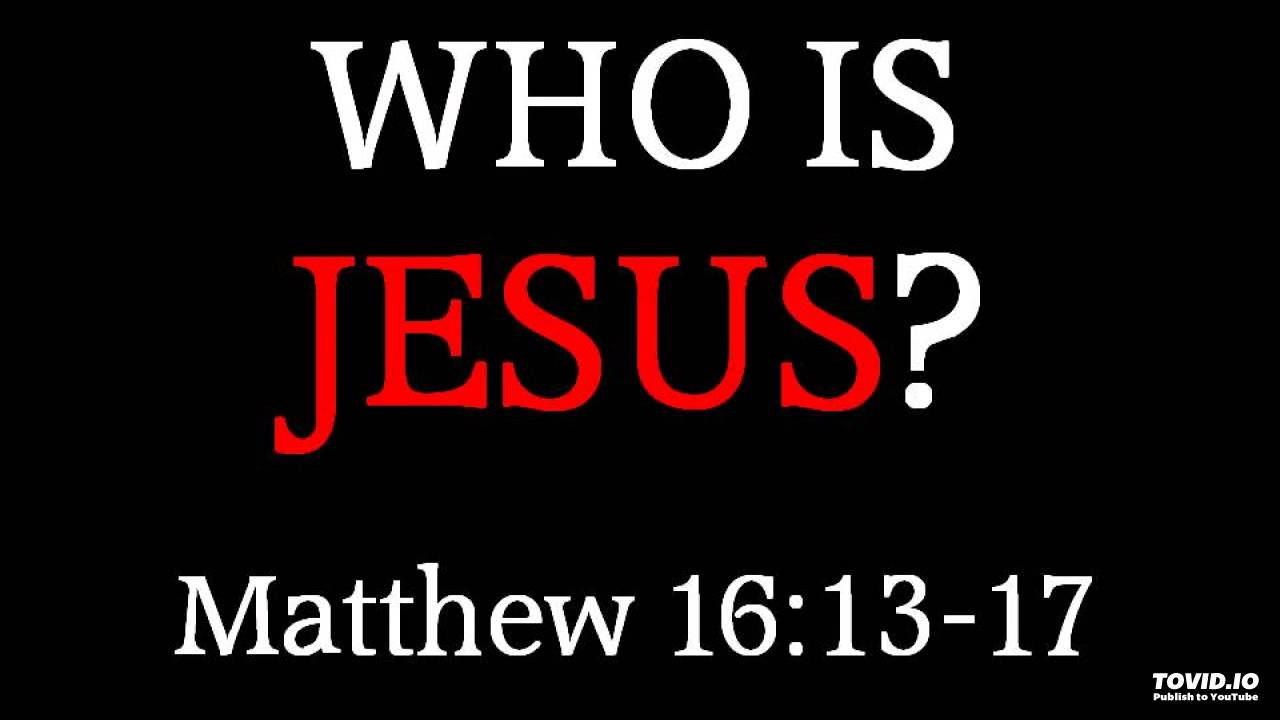 Occupy La >> 12-7-14 AM Who Is Jesus? from Matthew 16:13-17 - YouTube
