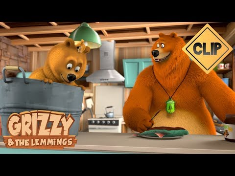 Grizzy babysits ! - Grizzy & the Lemmings