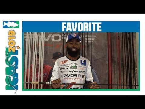 Favorite Fishing Phantom PHAT Glass Casting Rods With Brian Latimer   ICAST 2019