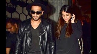 Ranveer Singh SPOTTED With His Sister Ritika Bhavnani At Arth Restaurant