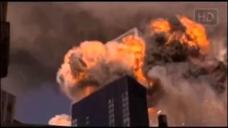 Падение башен близнецов в Нью-Йорке 11.09.2001.
