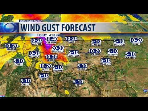 Gusty winds to cause blowing/drifting snow Friday