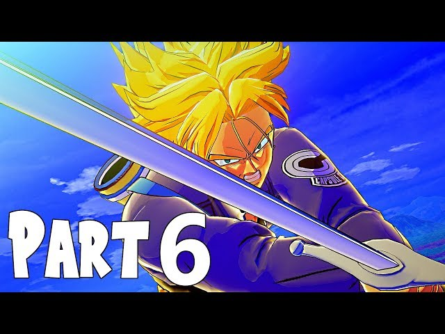 Dragon Ball Z Kakarot Gameplay Walkthrough Part 6- Future Trunks & Training For The Android Invasion