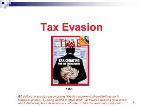 Tax Evasion & FATCA - 26 Minutes
