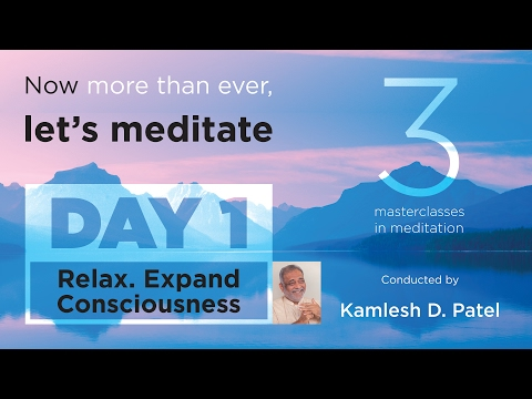 Welcome to Learn Meditation | Day 1 | Free Online Classes | Heartfulness Meditation