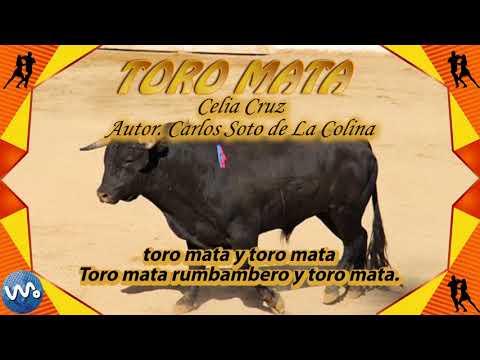 Toro Mata - Celia Cruz (Letra)