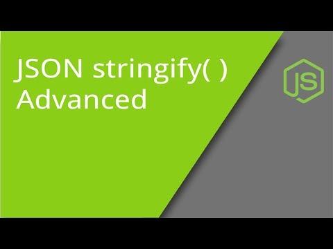 JSON stringify method - the optional parameters