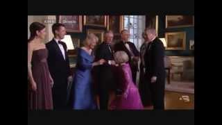 TRH Crown Princess Mary and Camilla, Duchess of Cornwall