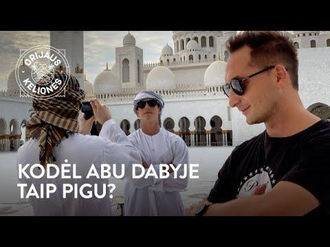 Orijaus Kelionės. 25 laida. Abu Dabis, 1 dalis (Jungtiniai Arabų Emyratai)