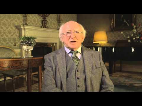 Teachtaireacht Lá Fhéile Pádraig 2015 ón Uachtarán Micheál D. Ó hUigínn