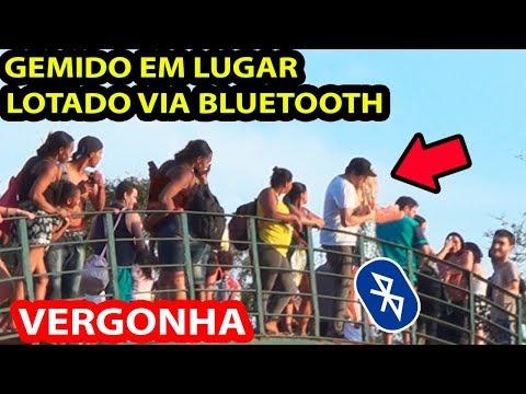 COLOCANDO GEMIDO EM LUGAR LOTADO VIA BLUETOOTH