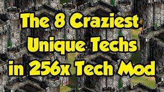 8 Craziest Unique Techs with 256x Tech Mod