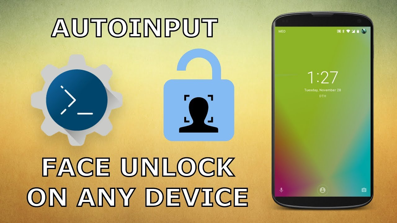AutoInput - Face Unlock On Any Device (Android 7+)