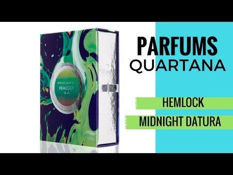 Parfums Quartana Review | Hemlock & Midnight Datura | Luxury Scent Box