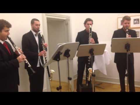 Download Youtube: Star Wars Cantina Band - Clarino Royal Clarinet Quartet