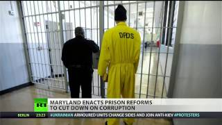 Maryland prison guards targeted by reform laws