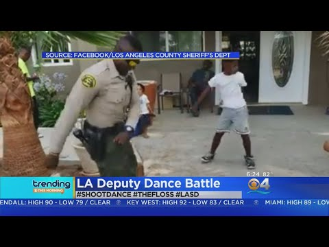 Trending: Dancing Cop