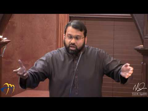 Branches of Faith - Pt.1 - Blessings and Benefits of this hadith - Sh. Dr. Yasir Qadhi