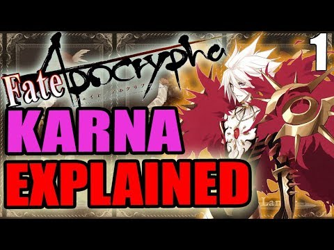 Karna / Lancer of Red Explained - Fate Apocrypha | PAST & LORE - Part 1