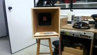 "Teste MEDIO GRAVE 12"" ""MD700"" Omega Drive 120hz ~ 20khz"