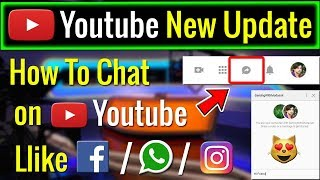 Youtube Introduce New Chat Feature | Now You Can Chat on Youtube Like Other Websites