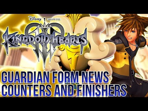 Kingdom Hearts 3 - Guardian Form News, Counters and Finishers!