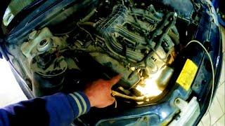 Замена датчика фаз ВАЗ 2112 16 клапанов