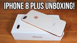 Unboxing iPhone 8 Plus | Gold 256GB