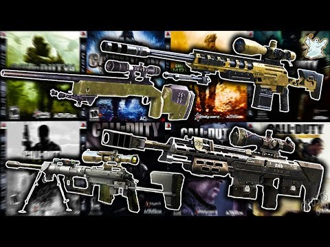 One Kill With EVERY Bolt Action Sniper In Call Of Duty