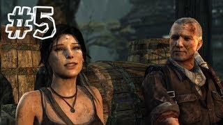 Tomb Raider (2013) - Gameplay Walkthrough Part 5 - Roth