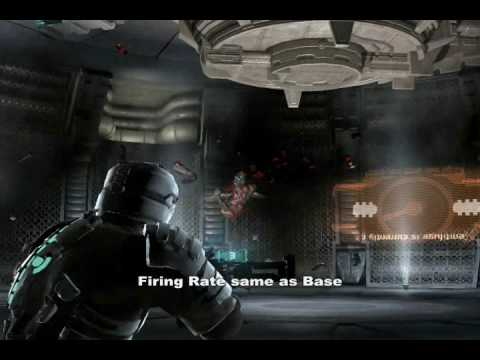 Dead Space: Weapon Demonstrations Part1