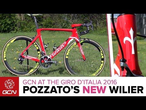 4dd8a19979a Filippo Pozzato's NEW Wilier Cento10Air - YouTube