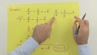 Doğrusal denklem sistemleri Şenol Hoca Matematik