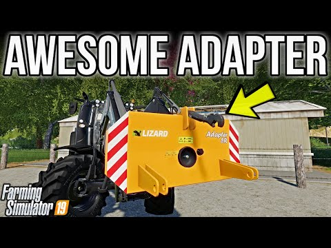 new mods fs19! new adapter changes the game again! (16 mods) | farming simulator 19