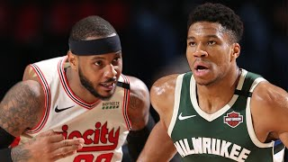 Portland Trail Blazers vs Milwaukee Bucks Full Game Highlights | January 11, 2019-20 NBA Season