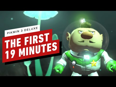 First 19 Minutes of Pikmin 3 Deluxe Gameplay on Nintendo Switch