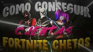 How to get Fortnite CHETAS ACCOUNTS *SKINS OTAKU* / Fortnite