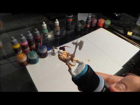 Miniature Painting -Beginner Tutorial ( 1 mini in under 1 hour)