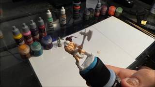 Miniature Painting -Beginner Tutorial ( 1 mini in under 1 hour)