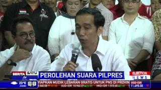 Kalah di Banten, Ini Tanggapan Jokowi