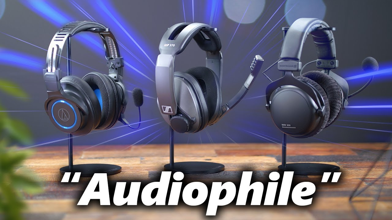 The Best Gaming Headsets Aren T Gaming Headsets Youtube